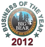 Big Bear California Business of the Year 2012 Award Badge