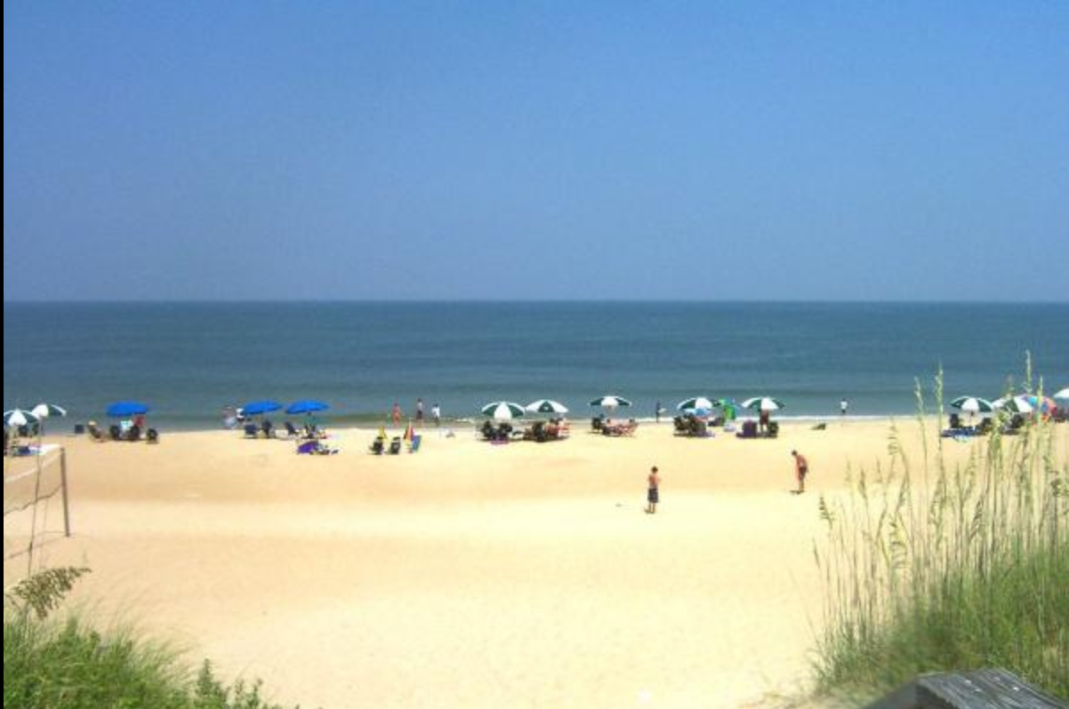 Beach at The Outer Banks North Carolina