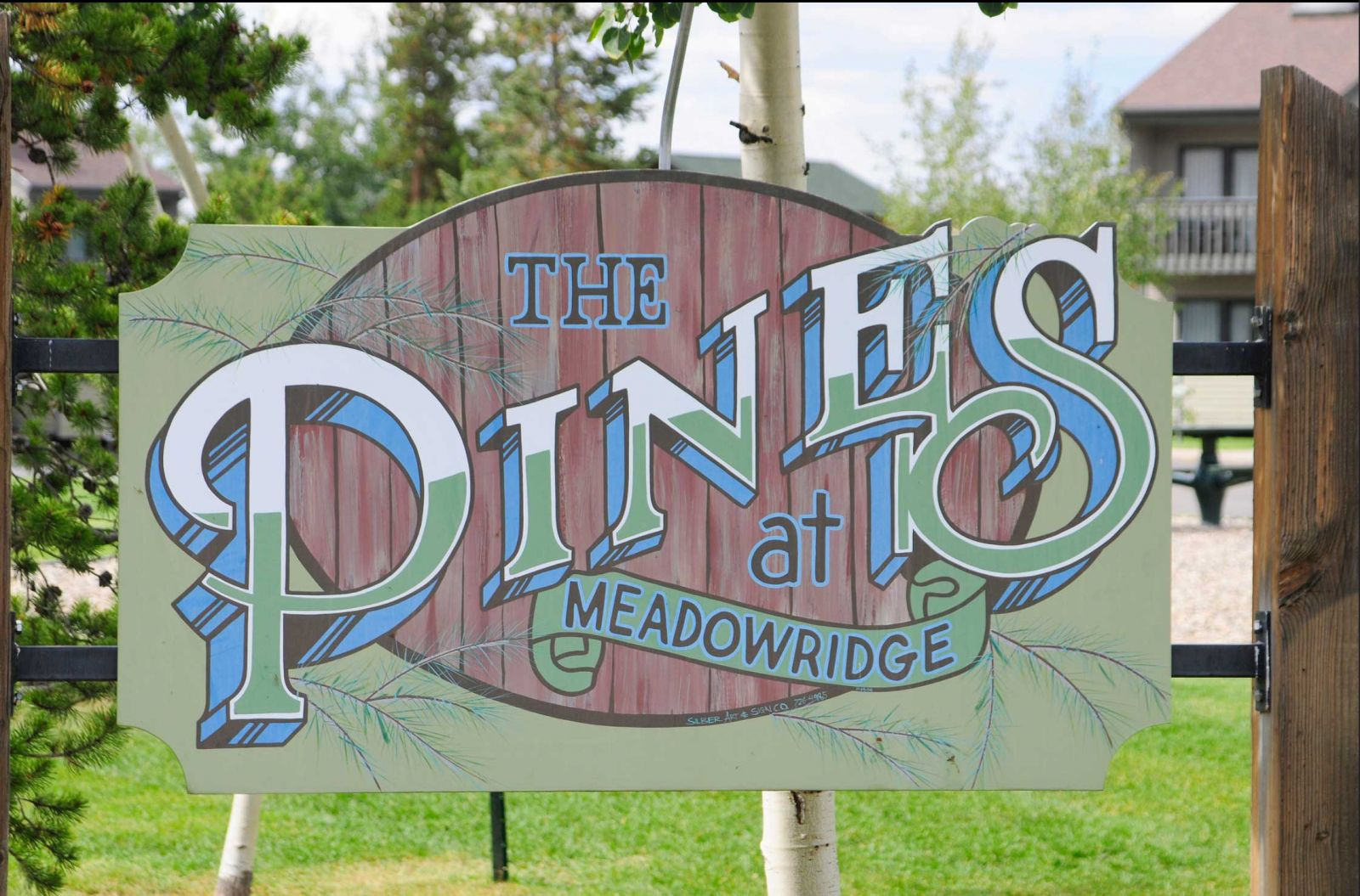 Pines at Meadow Ridge Sign