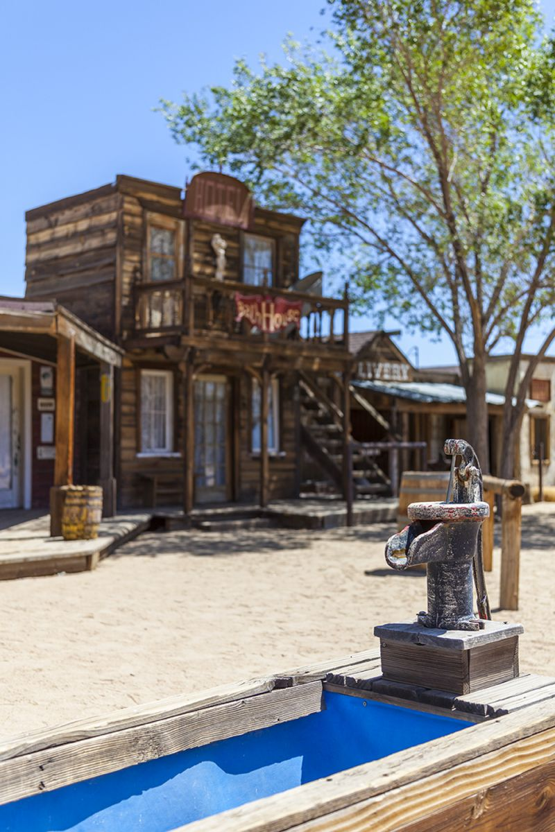Palm Spring Pioneer Town